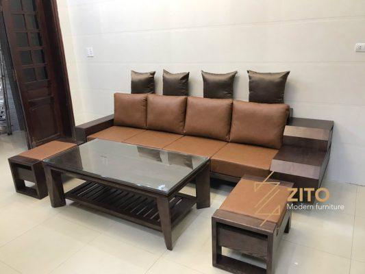 Chiêm ngưỡng hình ảnh bộ sofa ZG 126 tại nhà chị Tân – Nghệ An