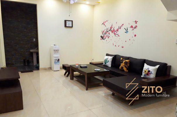 Bàn giao bộ sofa ZG 132 tại nhà anh Long – Hải Phòng