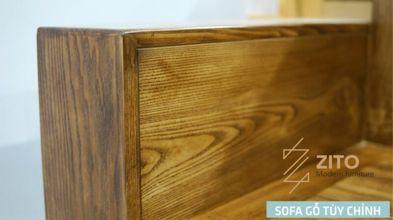 zito sofa go tuy chinh 103 Sofa gỗ Sồi văng ZG 103 S08