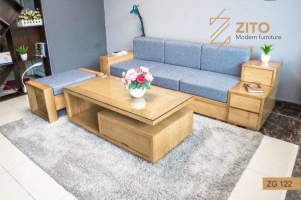Vì sao nên chọn lựa sofa văng gỗ tự nhiên cho phòng khách?