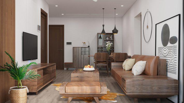 Concept chân vát dành cho căn hộ