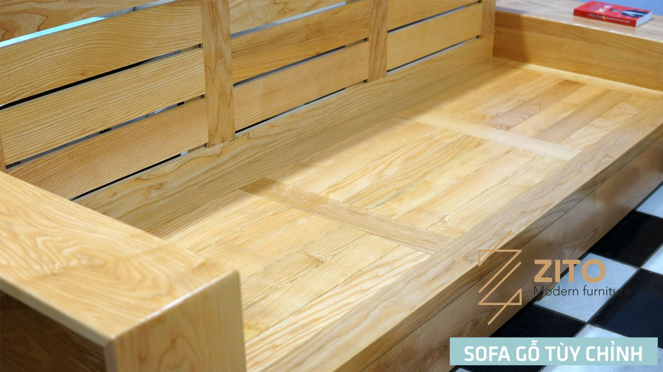 ZG 102 chất liệu chính gỗ sồi tự nhiên