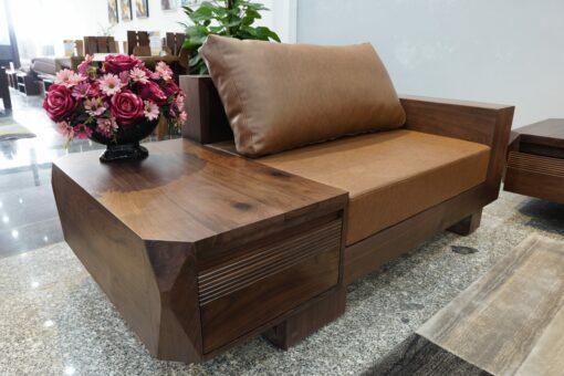 sofa zg 127 có phần tay gỗ to