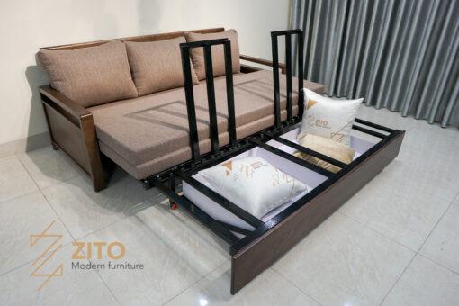 Sofa giường thông minh ZG 154 với nhiều tiện ích