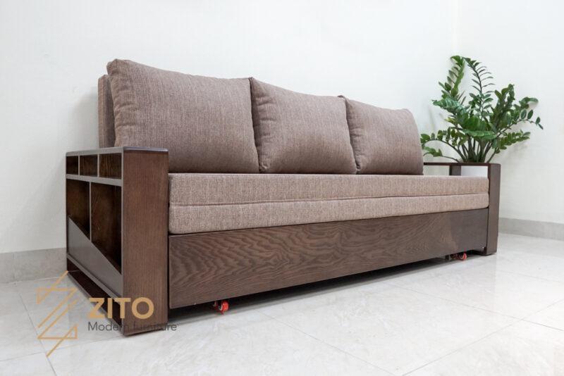 sofa giường thông minh ZG 153 tích hợp tiện ích 3 trong 1