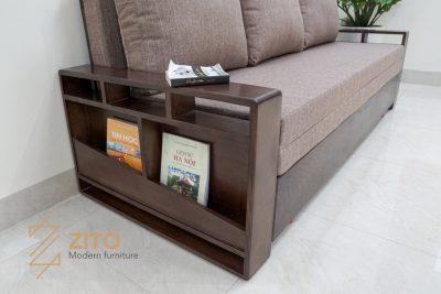 Kiểu dáng sofa giường đa năng ZG 153 thu hút với thiết kế lạ mắt
