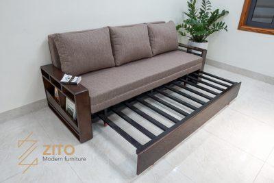 Khung sofa giường ZG 153 làm bằng sắt rất vững chắc