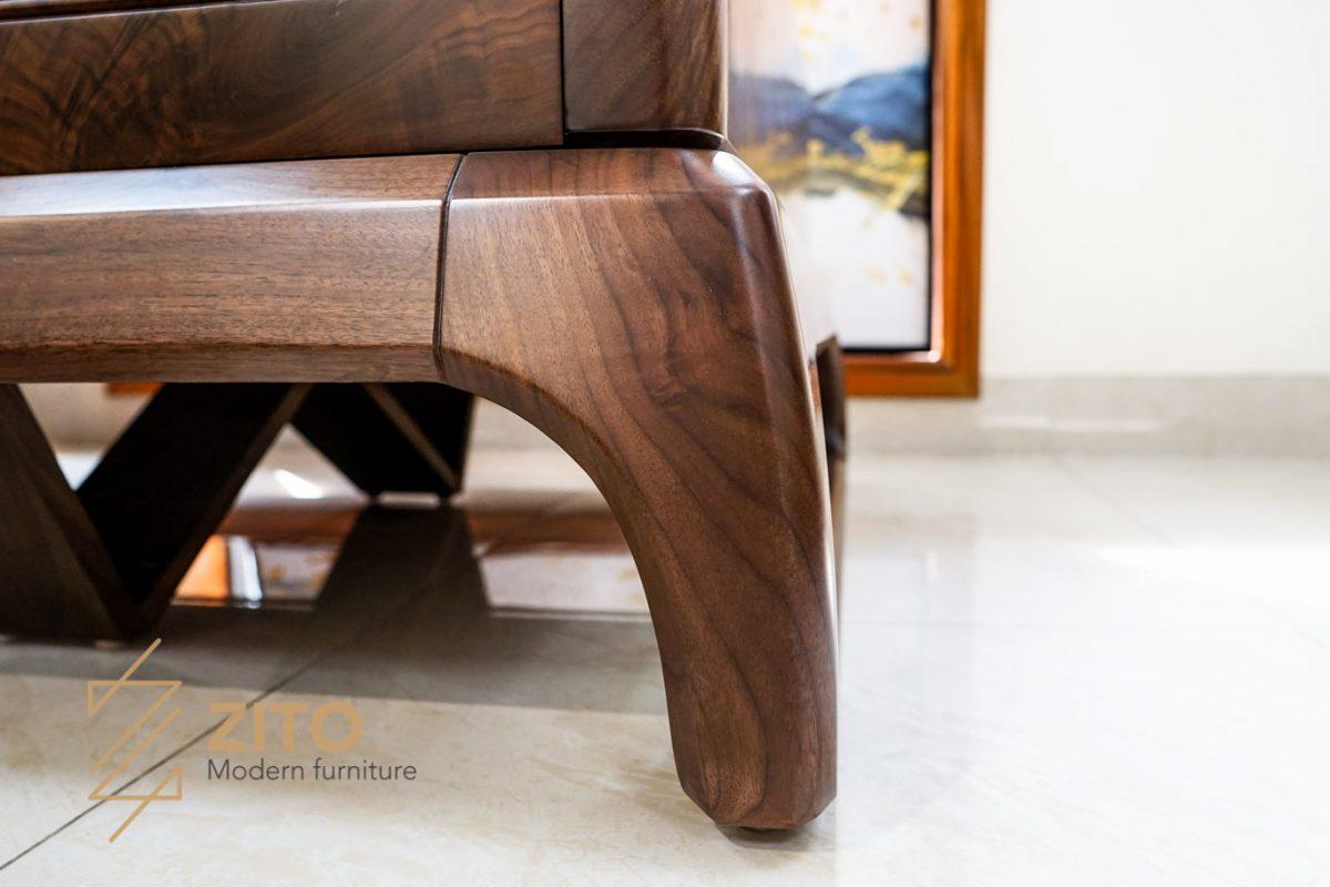 chân sofa sofa gỗ óc chó siêu cap cấp kiểu dáng hiện ddaijddocjo nhất tại zito
