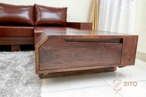 Chất liệu khung gỗ óc chó - ZG 118 có độ bền cao