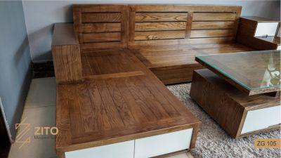 Bộ sofa ZG 105 góc chữ L