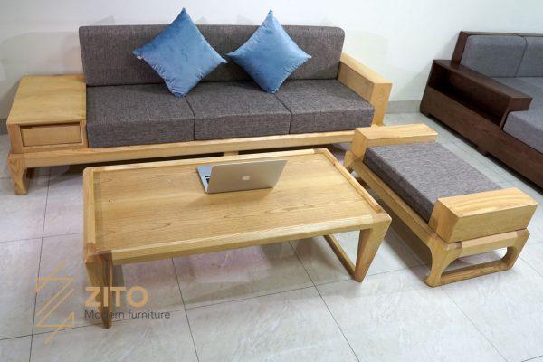 Sofa văng gỗ sồi ZG 133 S03