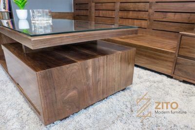 ZG 105 chất liệu khung gỗ óc chó tự nhiên