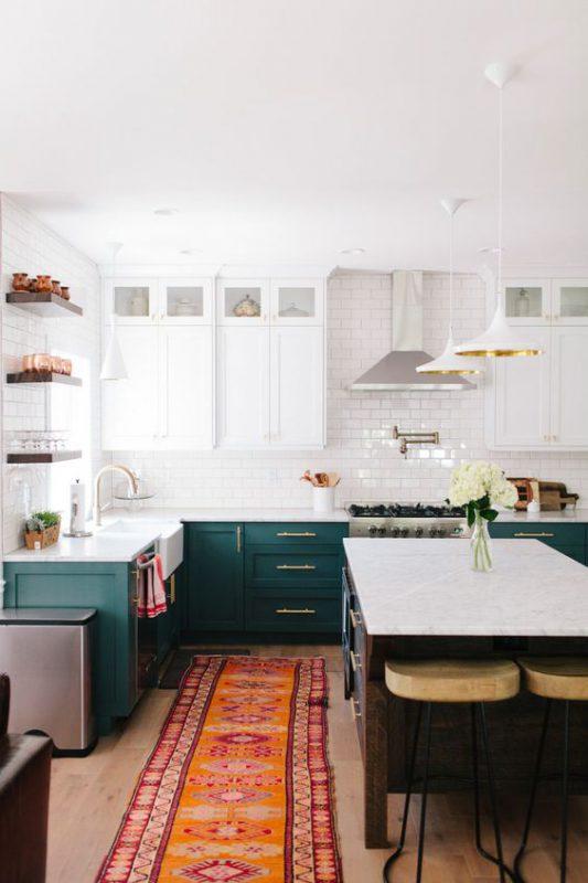 thiết kế mẫu tủ bếp đẹp tiện nghi