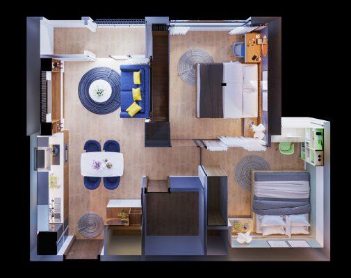 Nhận bàn giao căn hộ chung cư