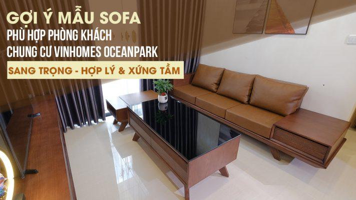 nội thất tiện nghi sofa căn hộ chung cư