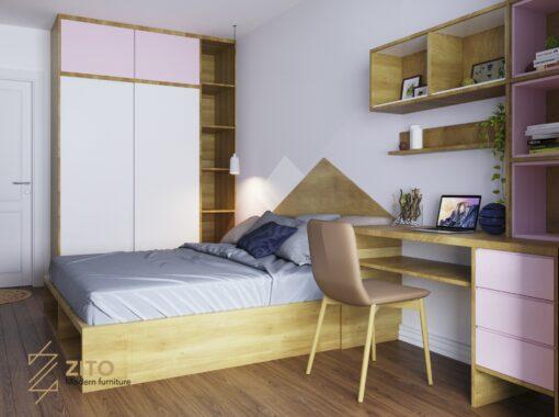 Thiết kế thi công nội thất căn hộ E3 04 – Dự án The Emerald 11 Thiết Kế Thi Công Nội Thất Căn 3PN The Emerald