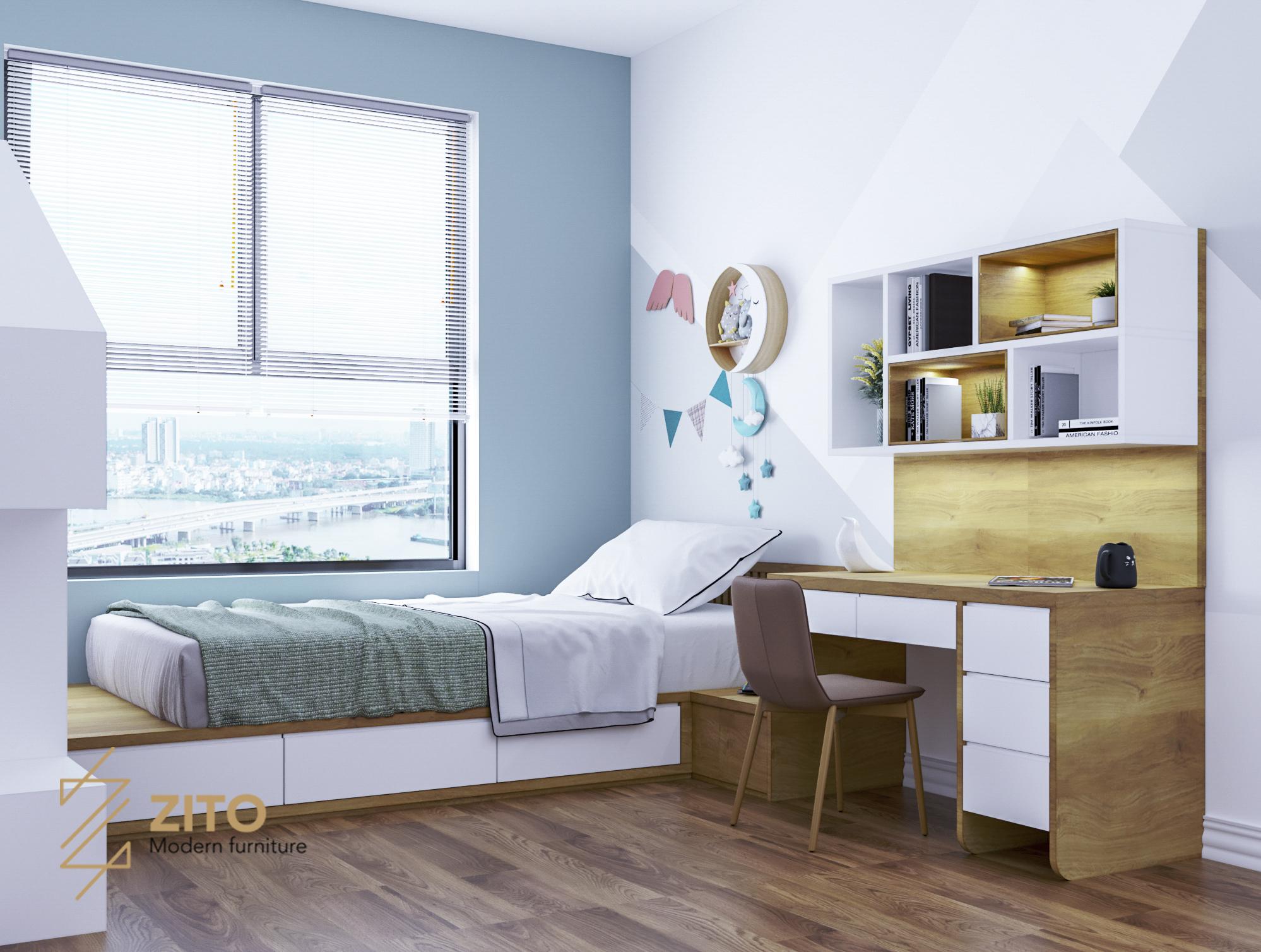 nội thất phòng ngủ diện tích nhỏ