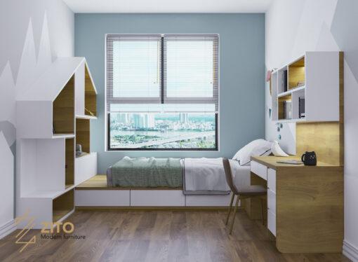 Thiết kế thi công nội thất căn hộ E3 04 – Dự án The Emerald 14 Thiết Kế Thi Công Nội Thất Căn 3PN The Emerald