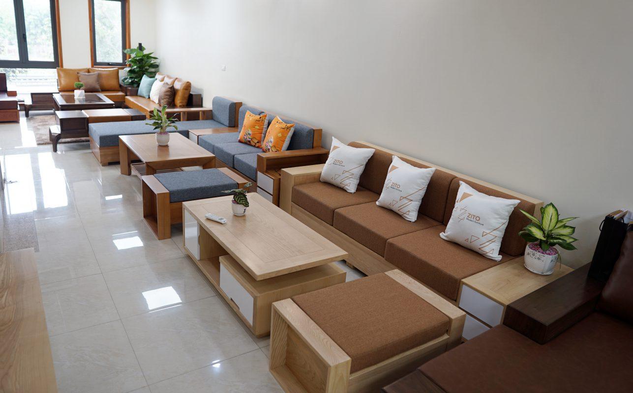 ZITO Long Biên cung cấp các dòng nội thất gỗ tự nhiên