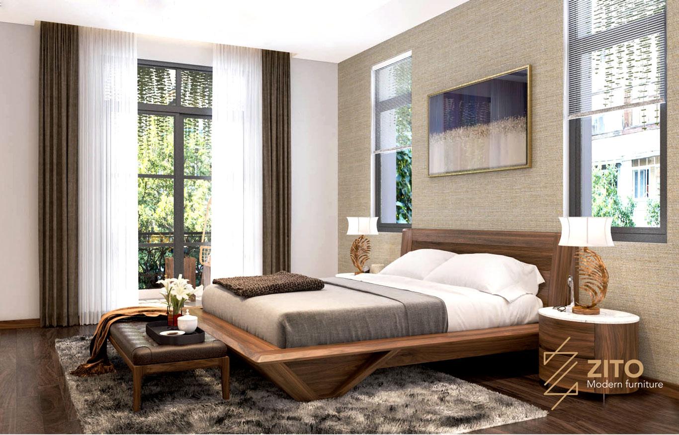 nội thất phòng ngủ châu âu