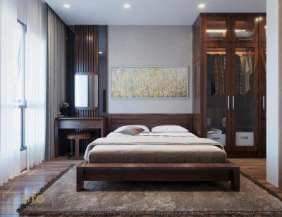 Giường gỗ tự nhiên ZA 805, ZA 805