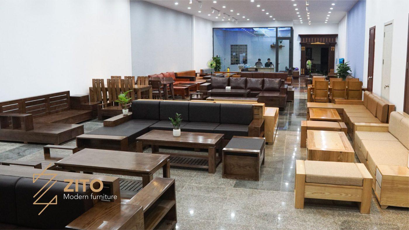 Quy mô showroom nội thất ZITO Hải Phòng