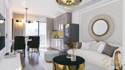 Thiết kế nội thất tân cổ điển mang đến vẻ đẹp sang trọng