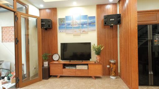 Thiết kế và thi công nội thất phòng khách