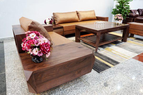 Cập nhật giá sofa gỗ óc chó trên thị trường hiện nay