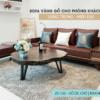 giá sofa gỗ óc chó tại nội thất ZITO Quảng Ninh