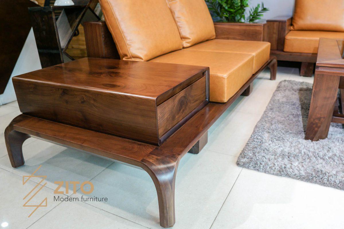 Mẫu bàn ghế ZG 128 thiết kế chân cong càng cua kiểu mới hiện đại