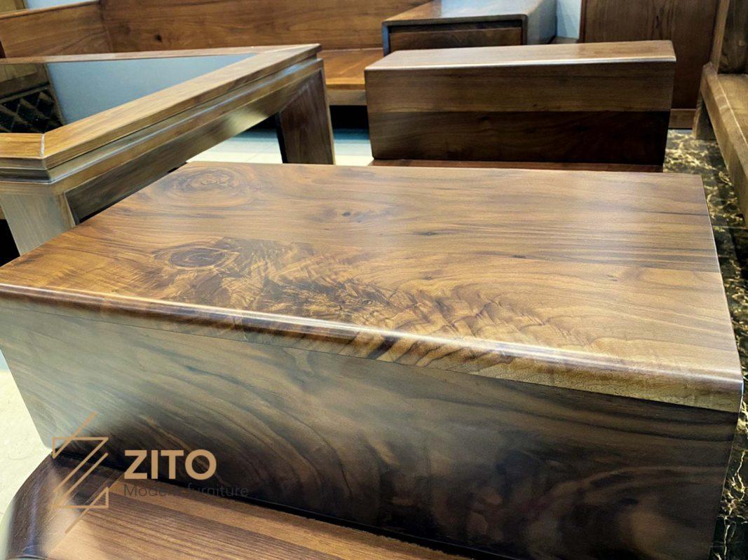 gỗ óc chó phong thủy zg 128 chữ u