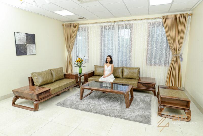 Sofa kiểu dáng chữ U bề thế