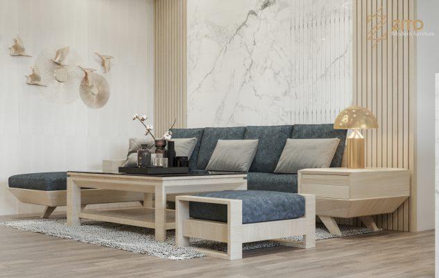 cách bố trí sofa trong phòng khách nhỏ