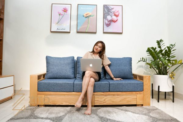 Sofa văng gỗ tự nhiên ZG 140