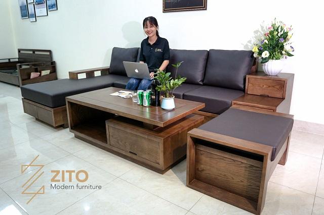 Kinh ngiệm chọn màu sofa gỗ hợp mệnh Thủy