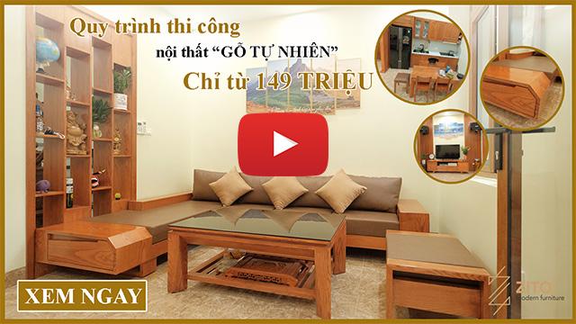 video full thanh tri Thiết kế & Thi công nội thất nhà đất 3 tầng tại Thanh Trì