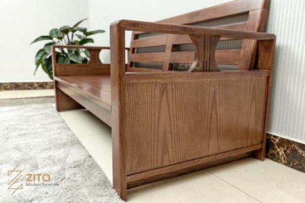 Sofa ZG 163 S08 sở hữu thiết kế tối ưu phù hợp với nhiều diện tích phòng khách nhỏ