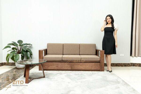 zg 164 sofa vang cho phong khach nho