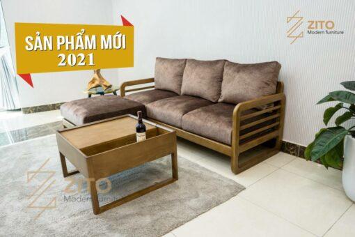 210630 5 Sofa văng gỗ sồi ZG 165