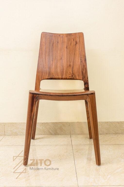 mẫu ghế ăn gỗ óc chó cao cấp