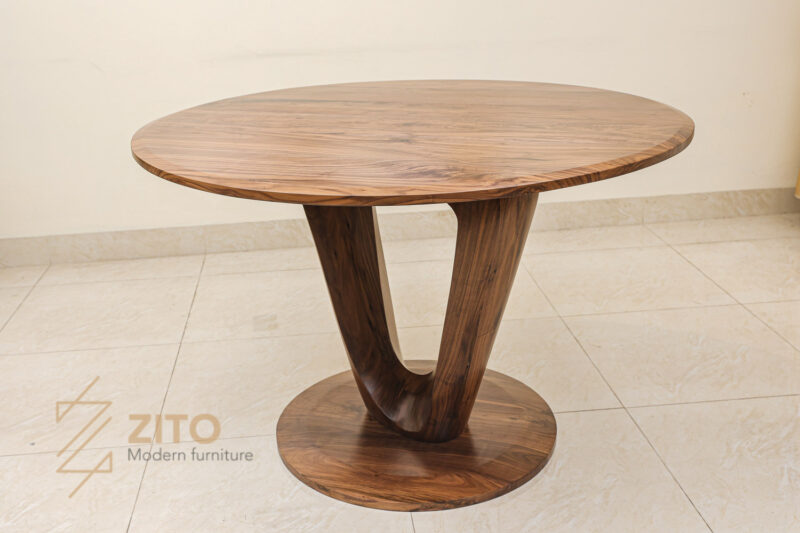 Bàn ghế ăn gỗ óc chó ZBA 609 - Nơi cái đẹp được cảm nhận bằng mọi giác quan