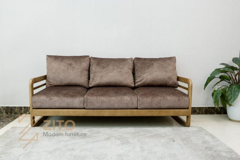 sofa vang go tu nhien zito ZG 165-14