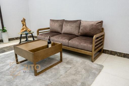 sofa vang go tu nhien zito ZG 165-2