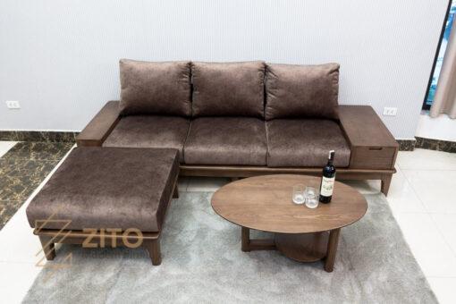 sofa vang go tu nhien zito ZG 166-53
