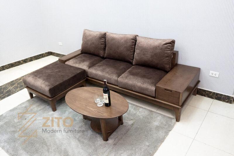 sofa vang go tu nhien zito ZG 166-54