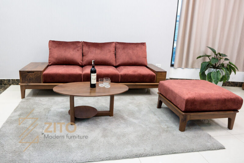 sofa vang go tu nhien zito ZG 166-32