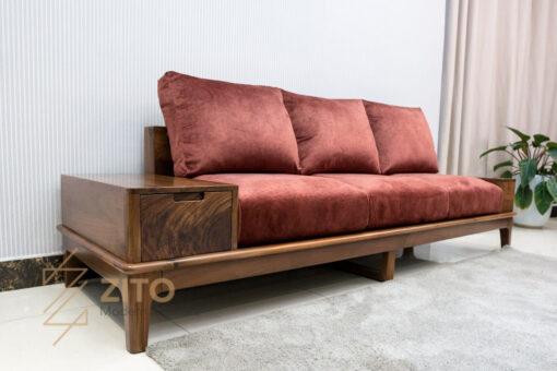 sofa vang go tu nhien zito ZG 166-46